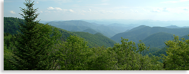 Haywood County Mountain Overlook