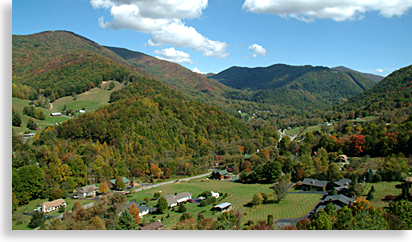 Maggie Valley North Carolina Overlook