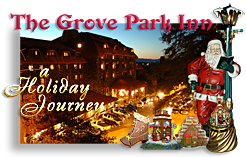 Christmas at Grove Park Inn