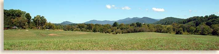 Mountains and Fields at John C. Campbell Folk School