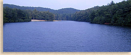 Carters Lake In Gilmer Murray County North Georgia Mountains