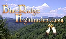 Blue Ridge Highlander Travel Guide to the Mountains