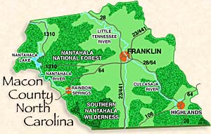 Highlands and Franklin North Carolina