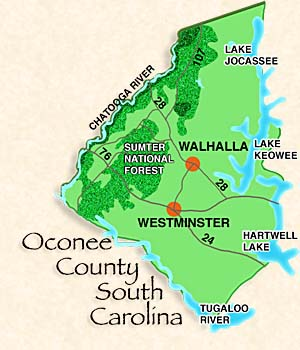 "Oconee County, ""UpCountry"" South Carolina"