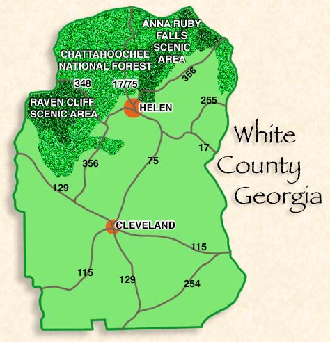 Helen, Cleveland, White County, North Georgia Mountains