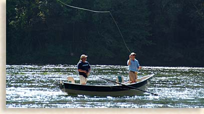 Fly Fishing on the Hiwassee River
