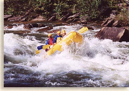 White_water Rafting on the Ocoee River