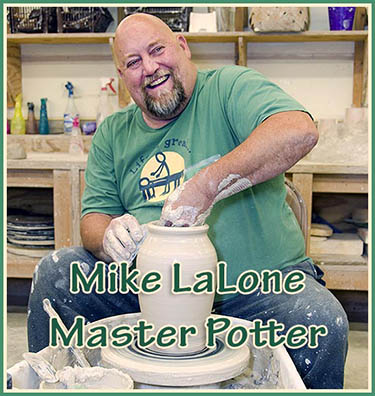 Mike LaLone, Resident Potter at John C. Campbell Folk School