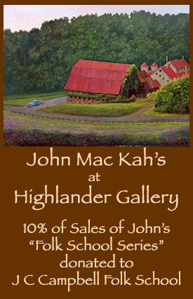 John Mac Kah & Ruthanne Kah at the Highlander Gallery