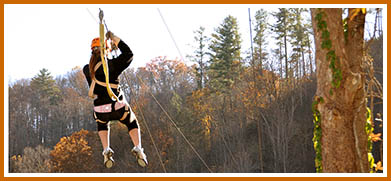 Zipline-Canopy Tours in the Mountains