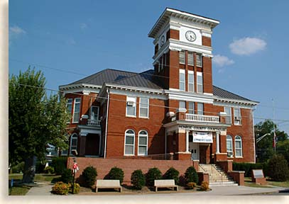 Madisonville Tennessee Courthouse