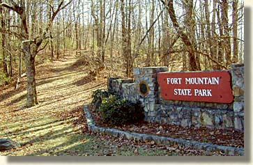 Fort Mountain in Chatsworth Georgia