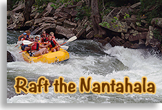 White Water Rafting on the Nantahala