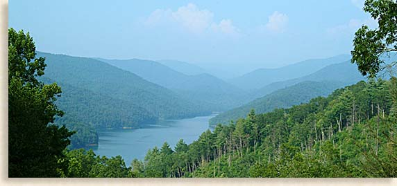 Lake Fontana in Western North Carolina