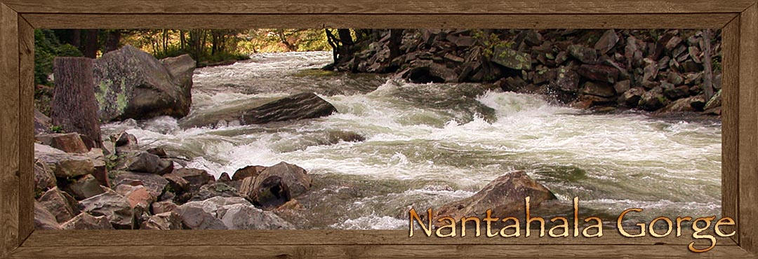 Nantahala Gorge in Western North Carolina