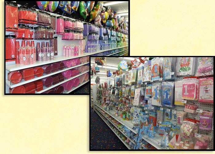 Party Supplies at Discount Prices