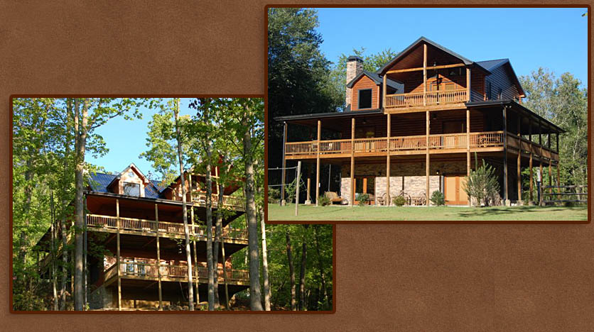 Premier Log Home Builder in North Georgia - Tennessee Mountains