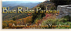 Blue Ridge Parkway Fall Scenic Driving Trip
