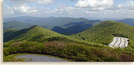 Brasstown Bald in the North Georgia Mountains