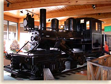 Climax Steam Locomotive Engine