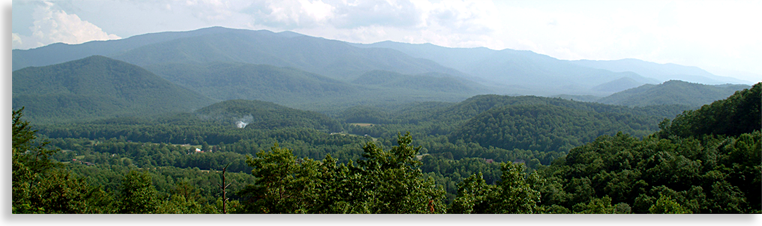 Smoky Mountains from the Foothills Parkway