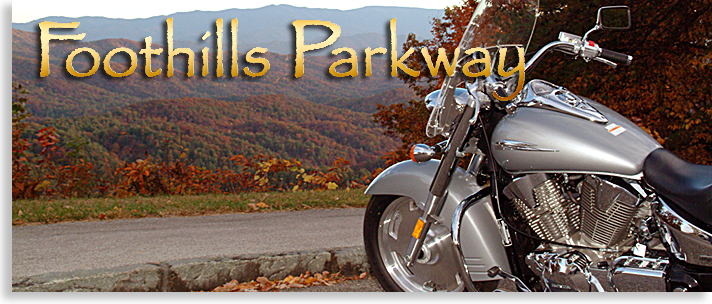 Foothills Parkway in Tennessee
