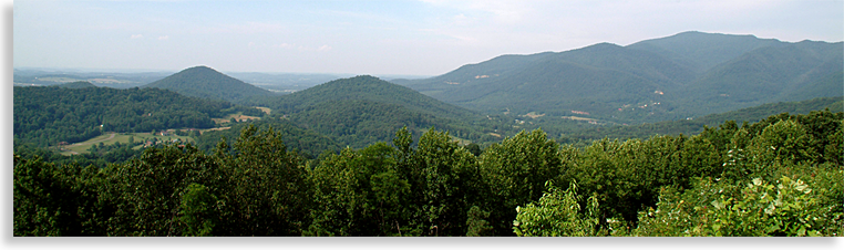 Tennessee River Valley from the Foothill Parkway