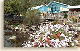 Gatlinburg Tennessee in the Great Smoky Mountains