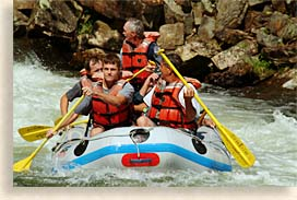 white water rafting in the smokies