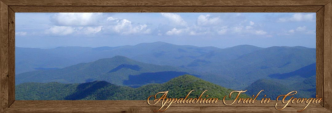 Appalachian Trail in Hiawassee GA - Towns County