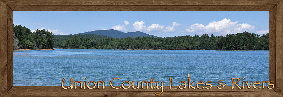 Union County Georgia Lakes and Rivers